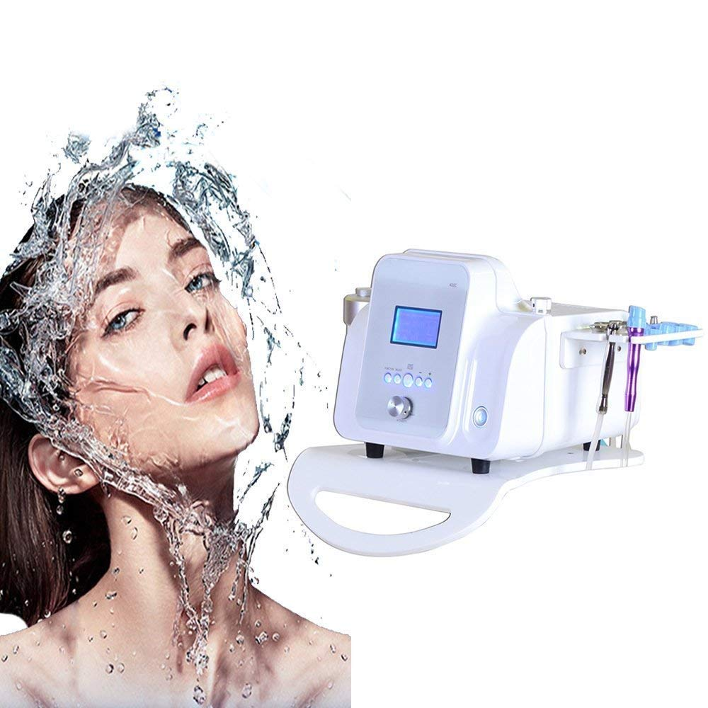 Denshine 2 in 1 Professional Facial Skin Care Machine Water Exfoliating Hydro Spa Beauty Machine Microcirculation Lymphatic Circulation by Denshine