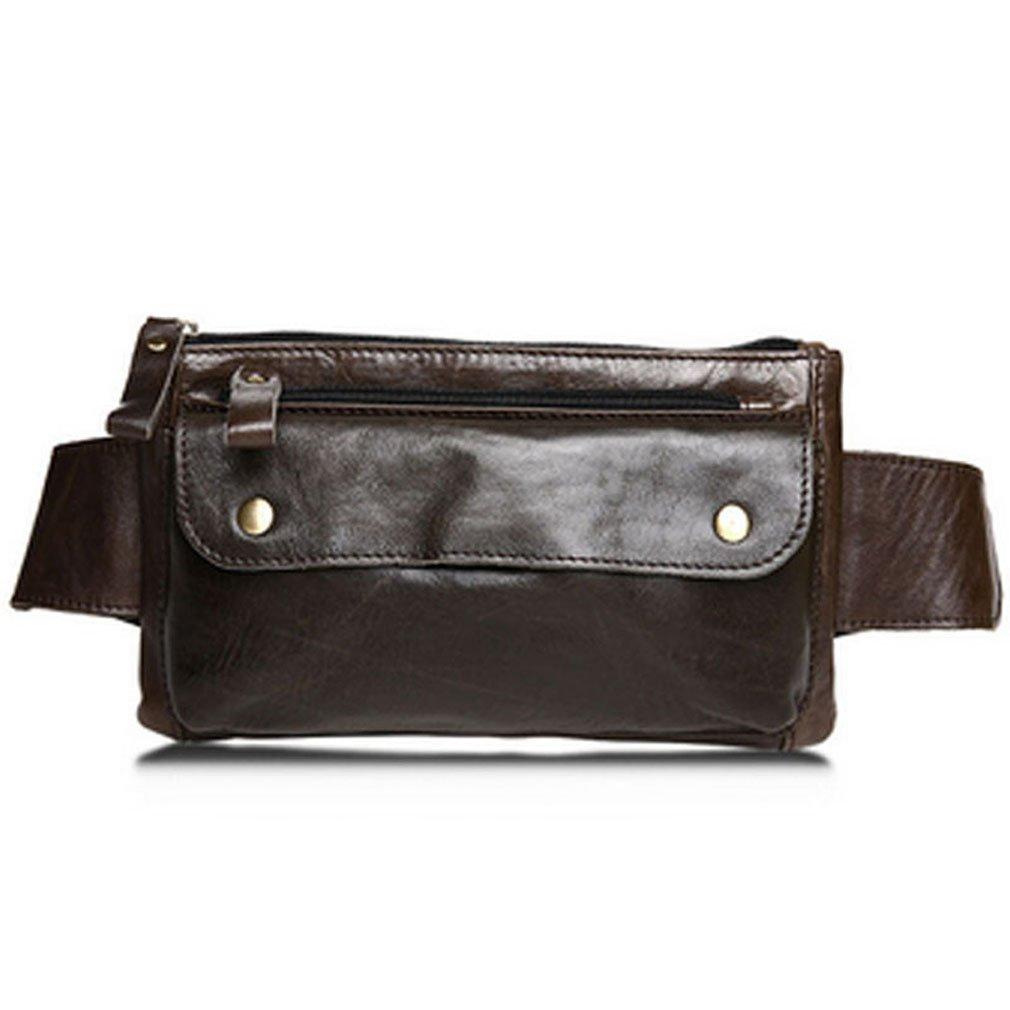 7ff11bd19b57 Amazon.com : Xieben Leather Waist Bag Fanny Pack for Men Women ...