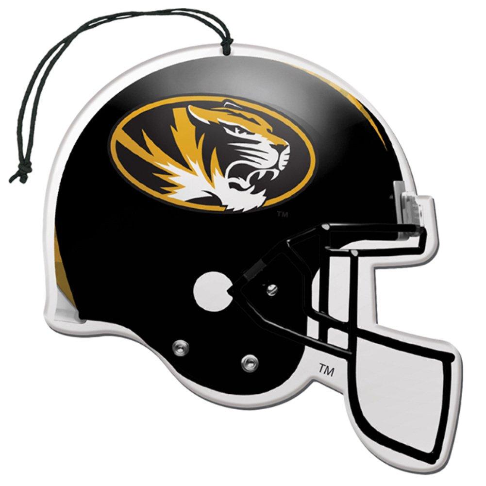 Licensed NCAA Missouri Tigers Nu-Car Scent Helmet Shape Air Freshener 3 Pack Set
