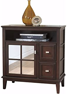 Beau Ashley Furniture Signature Design   Larimer Console Table   Classic Style  Entertainment Center   Rectangular