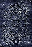 Persian Area Rugs 4620 Navy 5x7 Area Rugs,