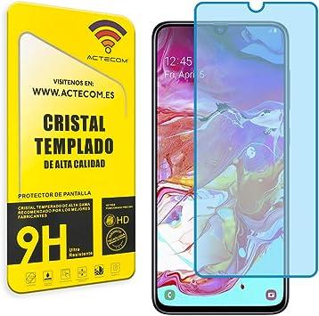 actecom® Cristal Templado Compatible con Samsung A70/A70s Protector Pantalla A70 / A70s A 70 (Cristal): Amazon.es: Electrónica