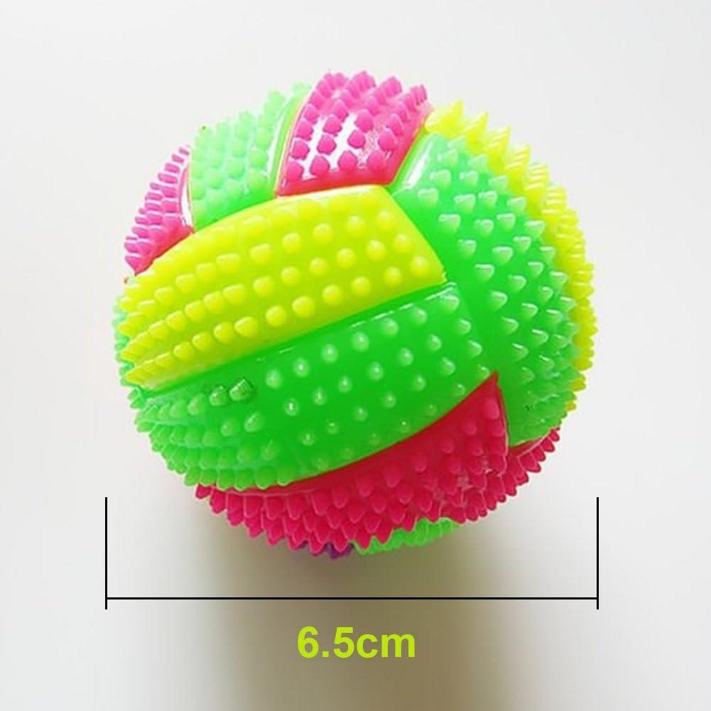 Behavetw Pelota de Voleibol LED para Niños con luz Intermitente ...