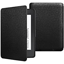 JETech Case for Amazon Kindle Paperwhite (fits all Paperwhite Generations) Smart Cover with Auto Sleep/Wake (Black)