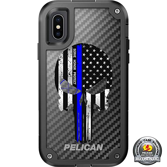 sports shoes 693f7 2b4a0 Amazon.com: Limited Edition Pelican Shield Case for iPhone X/Xs (5.8 ...