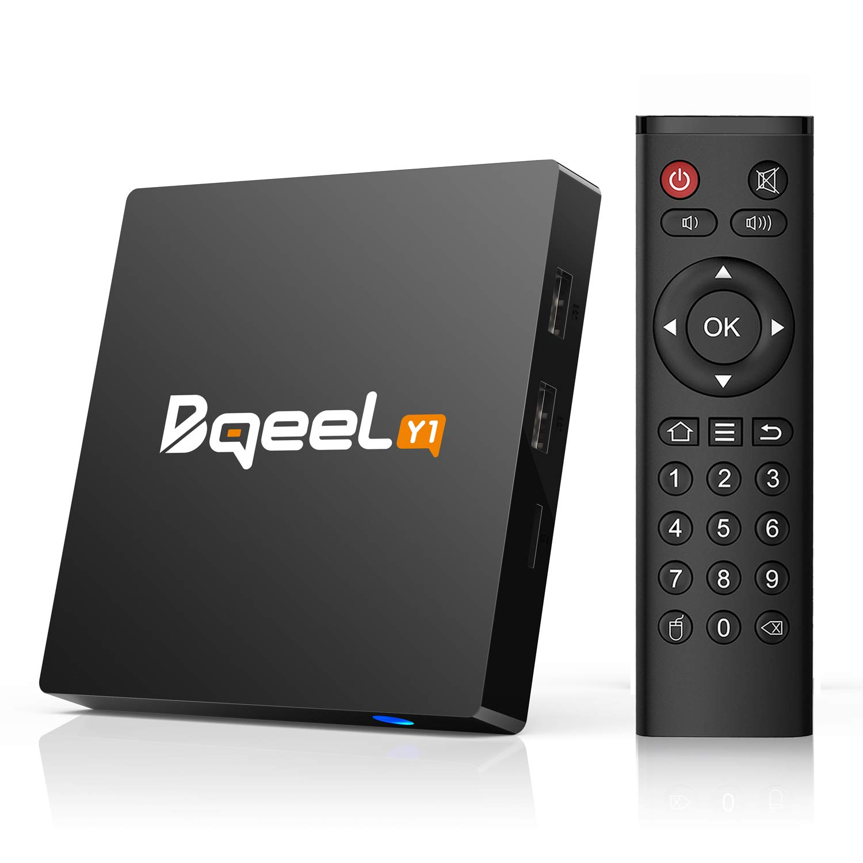 Bqeel Y1 TV Box Android 7.1 1GB/8GB Quad-Core 64-bit 4K @ 30fps 4K*2K UHD H.265, HDMI, USB*2, WiFi 2.4G Smart TV Box Bqeel trade