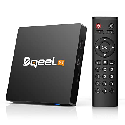 b8b2728904 Bqeel Y1 TV Box Android 7.1 1GB/8GB Quad-Core 64-bit 4K @ 30fps 4K ...