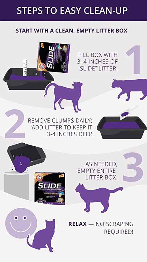 Arm & Hammer Slide Cat Litter - Clumping Multi-Cat