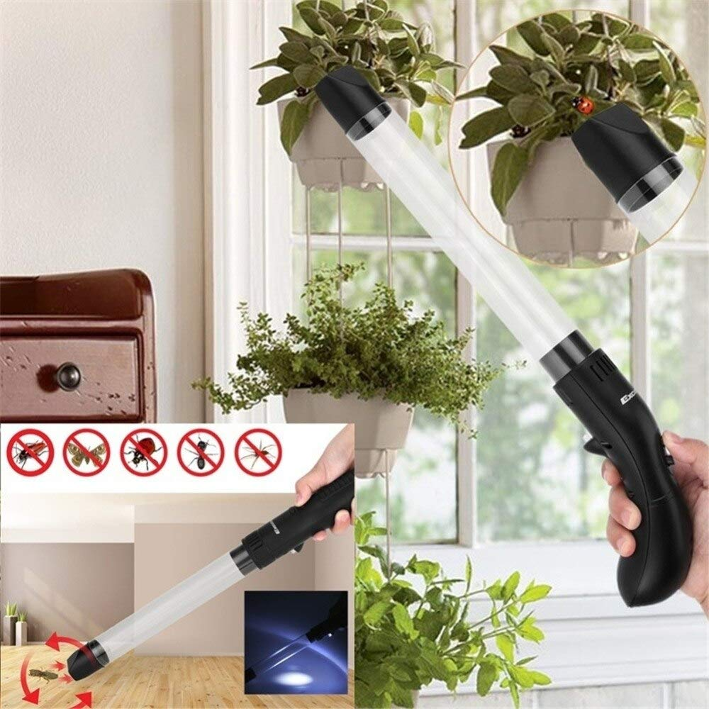 Garden Supplies Household Electronic Tube Insect Catcher Vacuum Pipe Trap Flies Mosquito Cockroach Portable Worms Pest Repeller