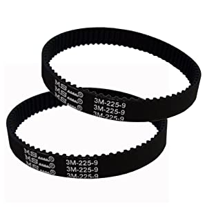 4YourHome 2-Pack Geared Drive Belt Designed to Fit Dyson DC17 Vacuum Cleaner 10mm Replaces OEM# 911710-01