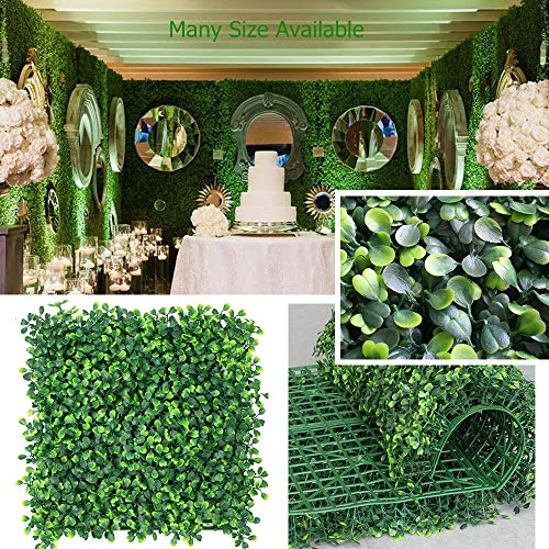 · Petgrow · Realistic & Thick Artificial Hedge Boxwood Fence Privacy Screen Panels 20