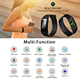 Fitness Tracker Band Smart Bracelet with Heart