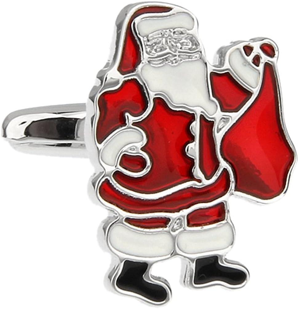 Kriss Kringle Santa Claus Father Christmas Cufflinks Holiday