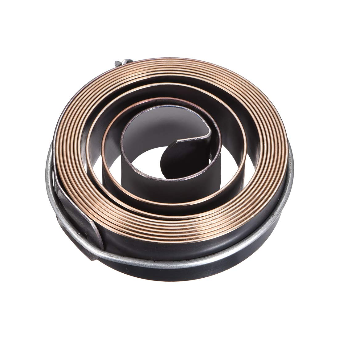 uxcell Drill Press Return Spring, Quill Spring Feed Return Coil Spring Assembly, 6Ft Length, 67mm x 19mm x 1mm
