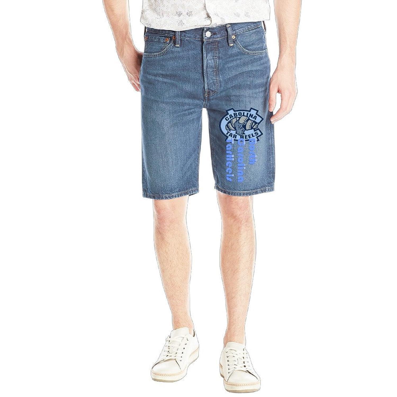 Men's North Carolina TarHeels Style Jeans Shorts