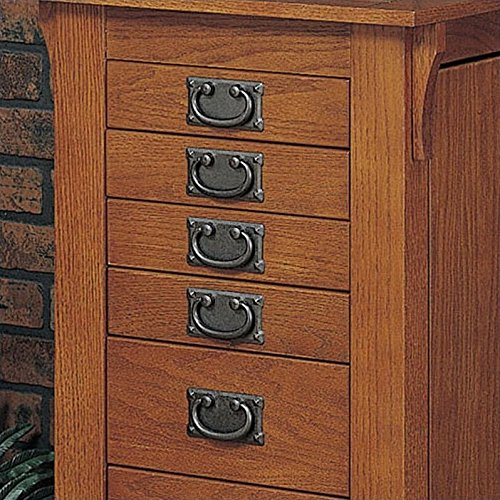 Powell Mission Oak Jewelry Armoire by Powell Furniture (Image #2)