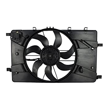 For Chevy Impala 2014-2015 Replace Engine Cooling Fan Assembly