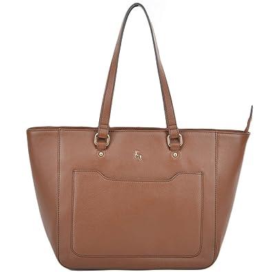 cb1da2965d Ashwood Womens Medium Leather City Shopper Bag Tan   61619 NA   Amazon.co.uk  Shoes   Bags