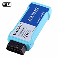 VXDIAG VCX Nano GDS2 Wifi version adapter is a highly portable and easy-to-store device with dimensions of 7.4 x 6.4 x 1.9 inches a