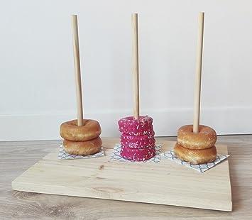 Organizador de rosquillos para fiestas y mesas dulces: Amazon.es: Hogar
