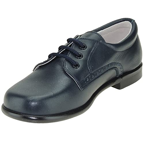 c76307bb69d PITOSS 4000 Zapato Comunión con Cordones y de Piel para Niño: Amazon.es:  Zapatos y complementos