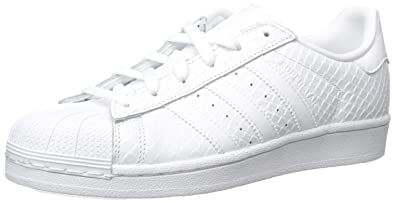 online store 28e96 af70d adidas Womens Superstar S76148 White Leather Trainers 42 23 EU