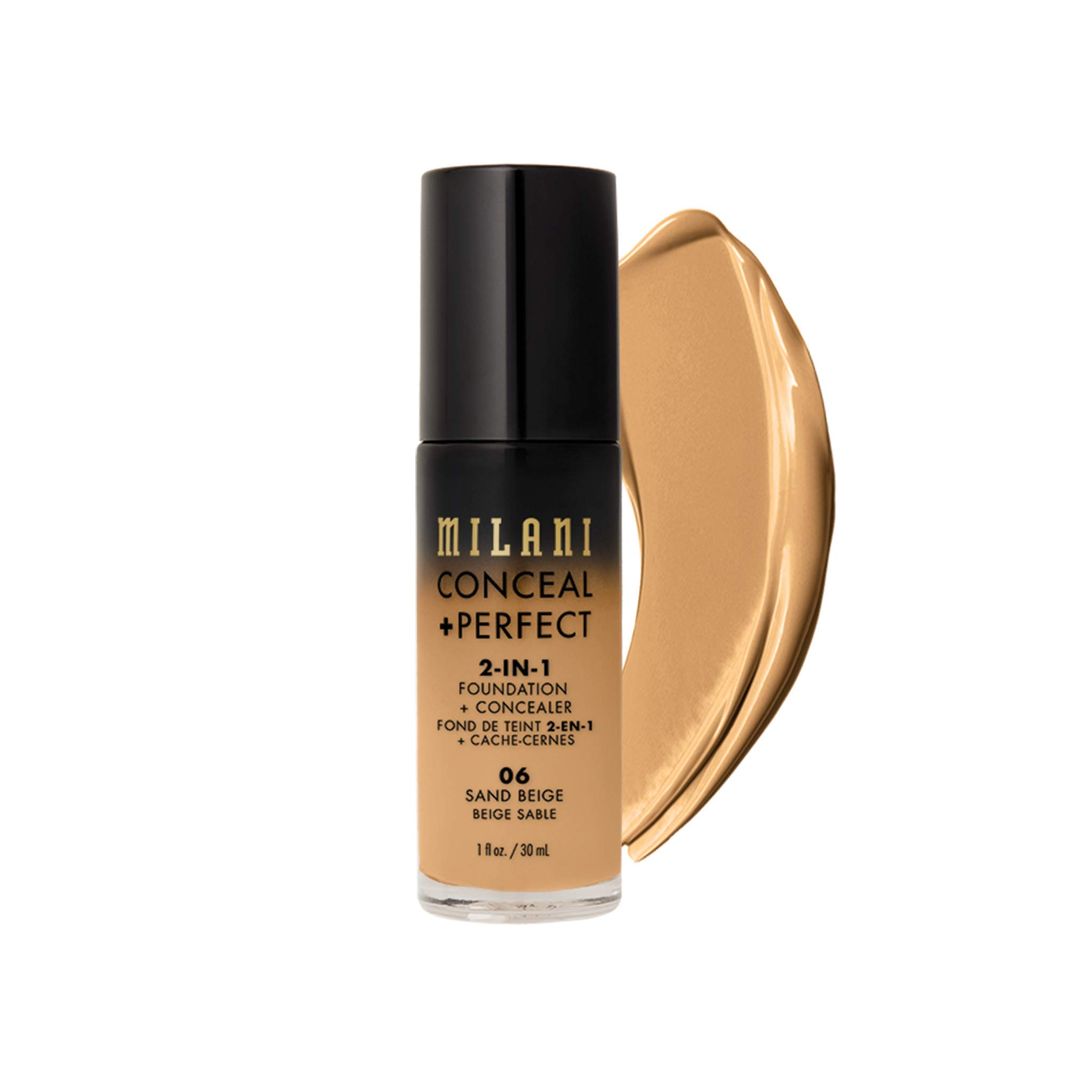 MILANI Conceal + Perfect 2-In-1 Foundation + Concealer - Sand Beige