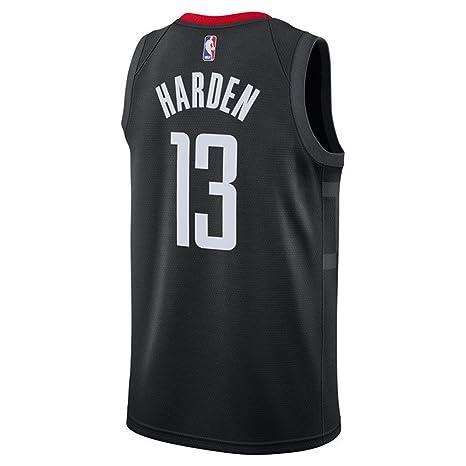 brand new 5b7f4 813d8 Harden Men's White Black Rockets Swingman Jersey Shirt 17/18