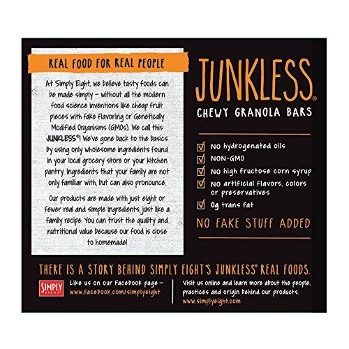Junkless Chewy Granola Bars, Cinnamon Roll, 1.1 oz, 6 Bars
