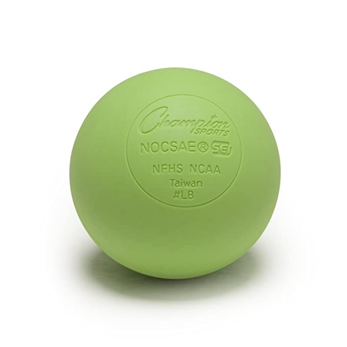 Champion Sports Lacrosse Balls - NCAA NFHS Certified - Lime Green