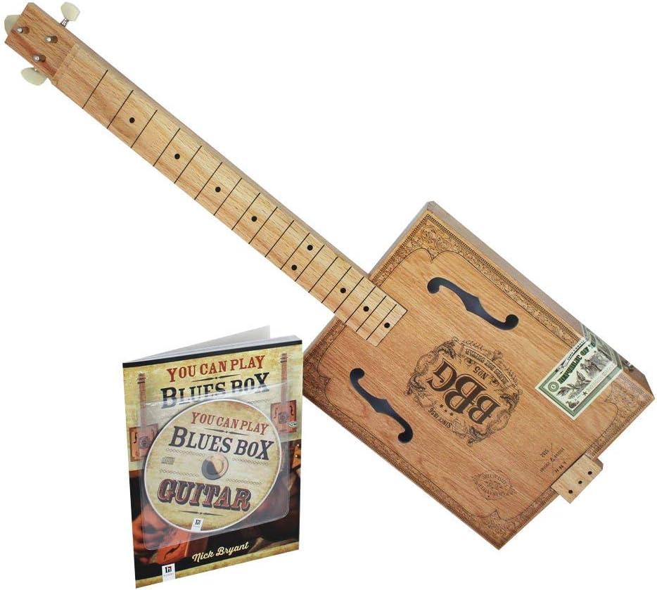 Hal Leonard Electric Blues - Caja de cigarros para guitarra ...
