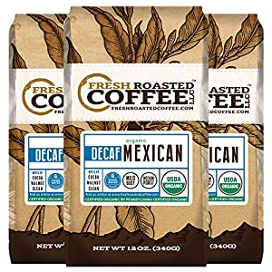 Mexican SWP Decaf Organic Coffee, Swiss Water Processed Decaf Coffee, Fresh Roasted Coffee LLC.