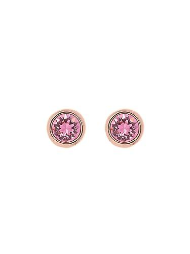 Ted Baker Women Brass Pink Stud Earrings TBJ1266-24-134 IMI2R9Z