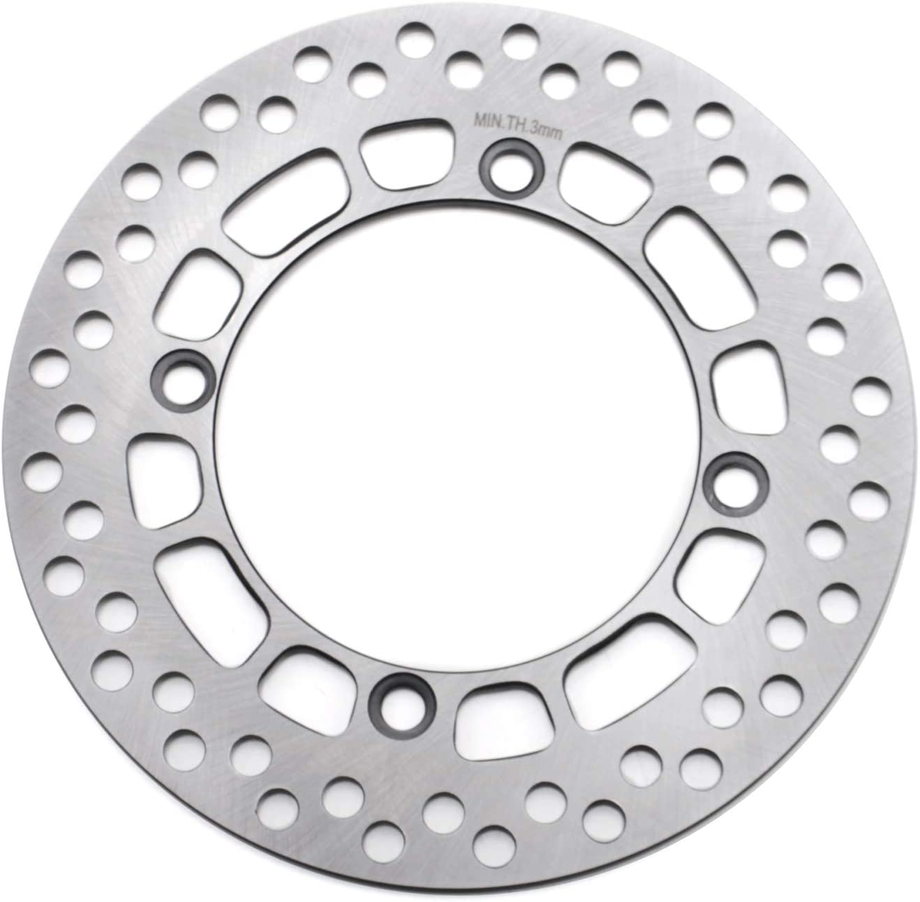 ANUESN Motorcycle Front Brake Disc Fit SUZUKI DR200 DF200 DR125 TS125 230MM