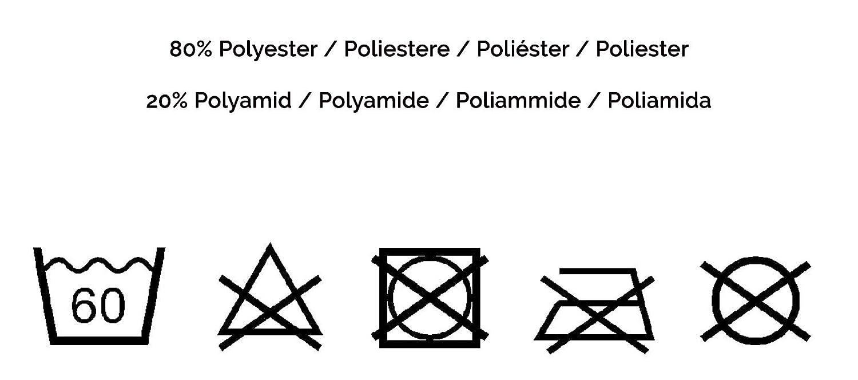 Gris ZOLLNER Set de 2 Toallas Turbante para el Pelo de Microfibra