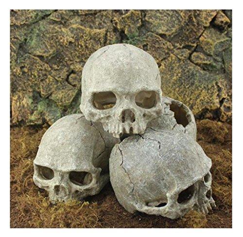 rukiwa-halloween-aquarium-decorative-resin-skull-crawler-dragon-lizards-decoration
