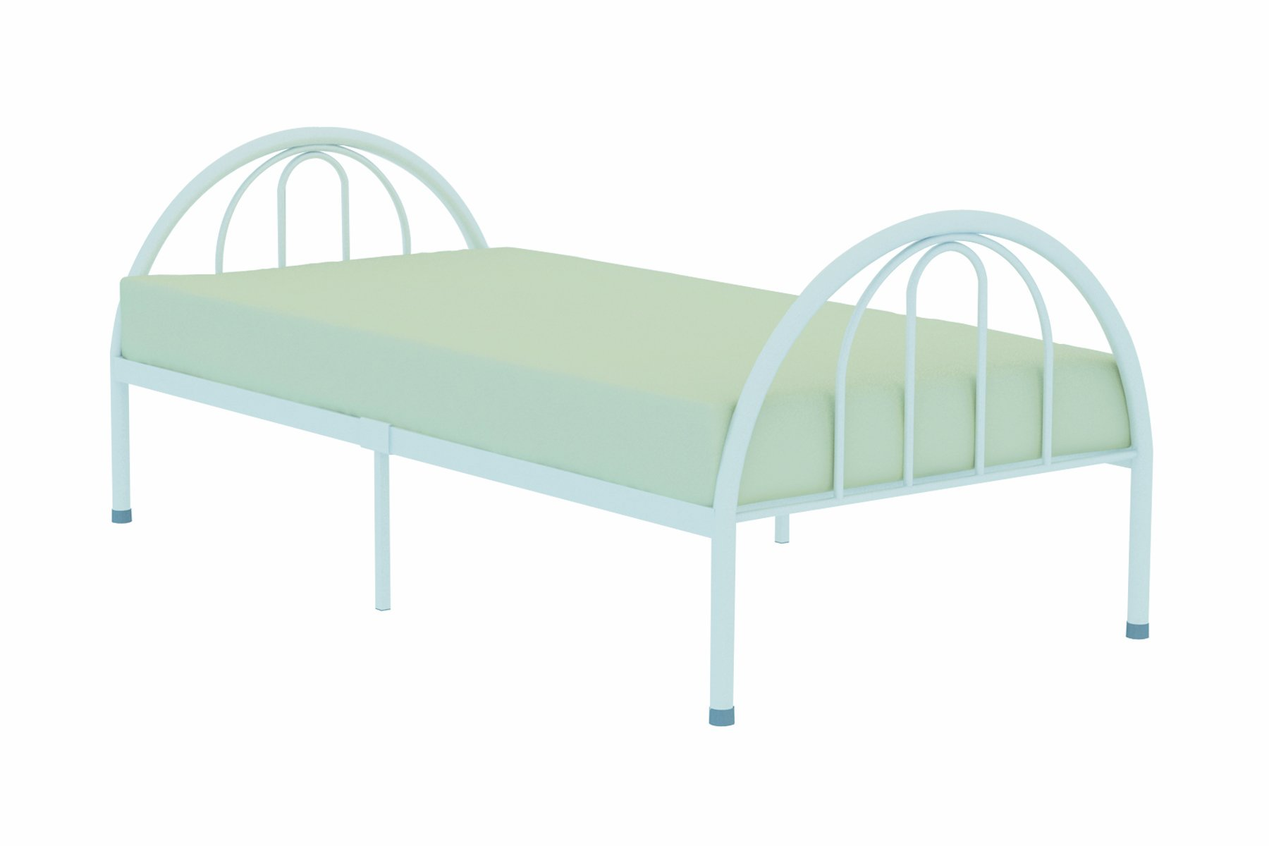 Rack Furniture New Haven Twin Bed,White