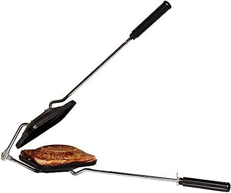 Black GD Non Stick Sandwich Maker with Non Stick Cookware Toaster Sandwich Maker 1 Piece