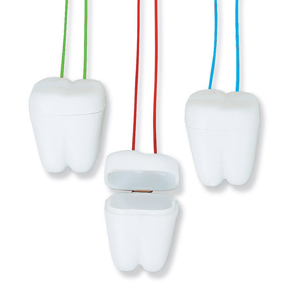 Fun Express Tooth Saver Necklaces - 144 Per Pack by Fun Express