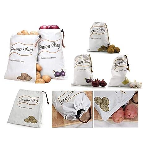 Bolsas de almacenamiento de alimentos a granel reutilizables ...