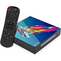 Android 9.0 TV Box,4GB RAM 64GB ROM Smart TV Box RK3318 USB 3.0 Ultra HD 4K HDR Dual Band WiFi 2.4GHz 5.8GHz BT 4.1…