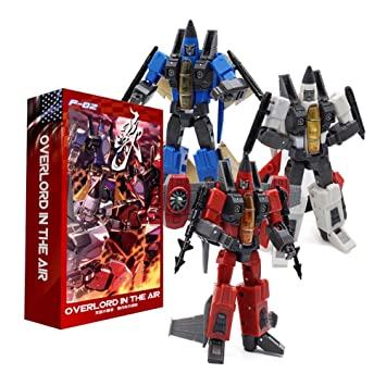 Mech Fans Toys Overlord In The Air MFT F-03 MF Small Scale Flight Model  3 Robot