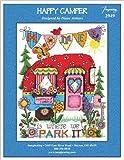 #10: Happy Camper (Kit 2949K) Cross Stitch Kit and Free Embellishment