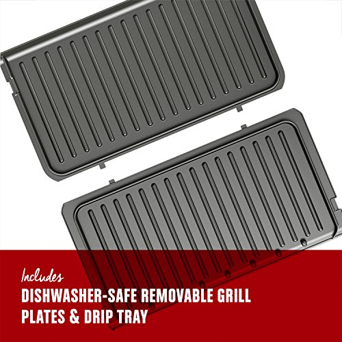 George foreman rapid grill series 5 serving removable - George foreman replacement grill plates ...