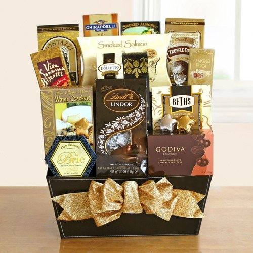 Something for Everyone Premium Gourmet Gift Basket | Office Gift Idea by Organic Stores