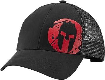 Reebok de Hombre Spartan Race Trucker Gorra Negro z91547: Amazon ...