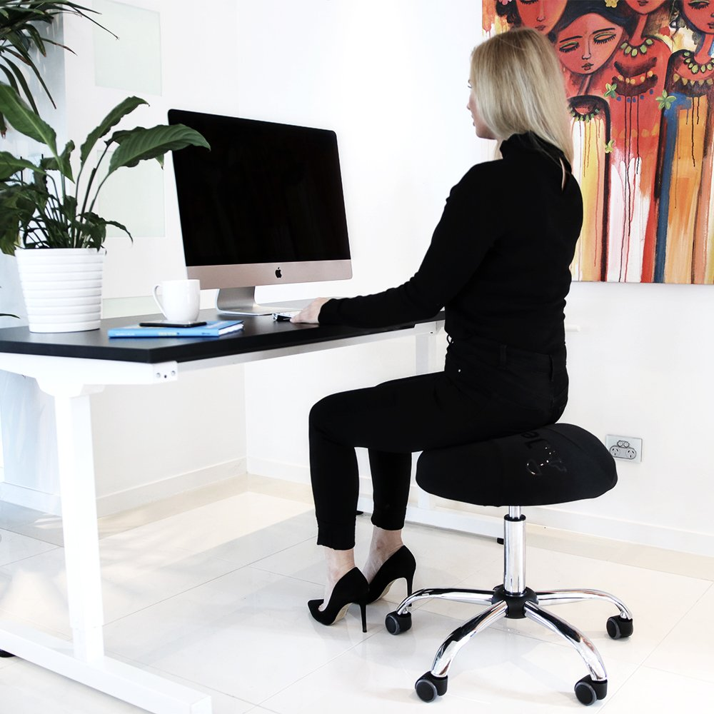 Balance Ball Office Chair Stool, Jellyfish Adjustable Chair by Coreseat | Ergonomic Exercise Office Chair that Provides Stability and Core Strength for the Home, Office or Classroom by Coreseat (Image #8)
