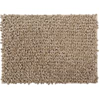 Casale Home 847431000328 New Cut and Large Loop Microfiber Chenille Area Rug, 4x6, Beige