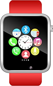 Padgene Bluetooth Smart Watch GSM Phone Watch with Camera for Android IOS Smartphones