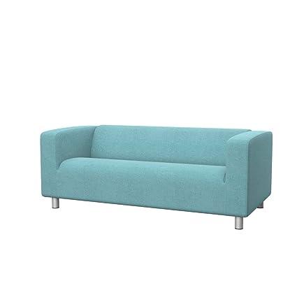 Attirant Soferia   IKEA KLIPPAN 2 Seat Sofa Cover, Glam Sky Blue